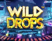 Wild Drops video slot logo