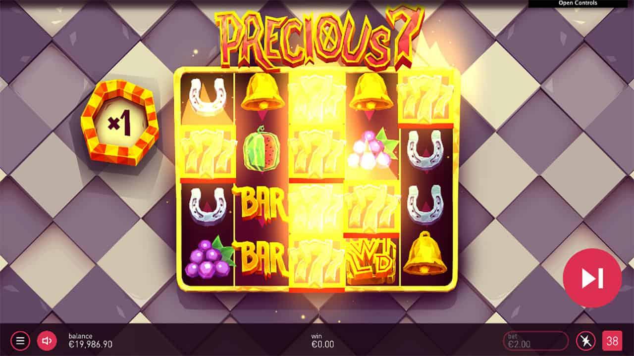 Precious7 slot screenshot