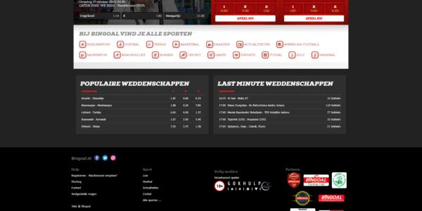 Bingoal.nl screenshot
