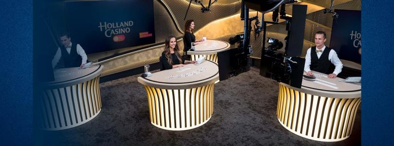 Vanaf nu live casino spellen spelen bij Holland Casino